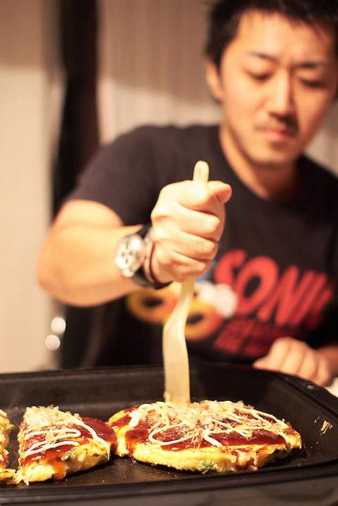 Bánh xèo okonomiyaki