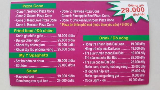 Đến Pizza Cones thưởng thức pizza 29. 000 đồng 8