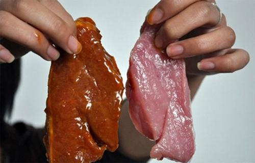 Mẹo phân biệt thịt bò giả 1