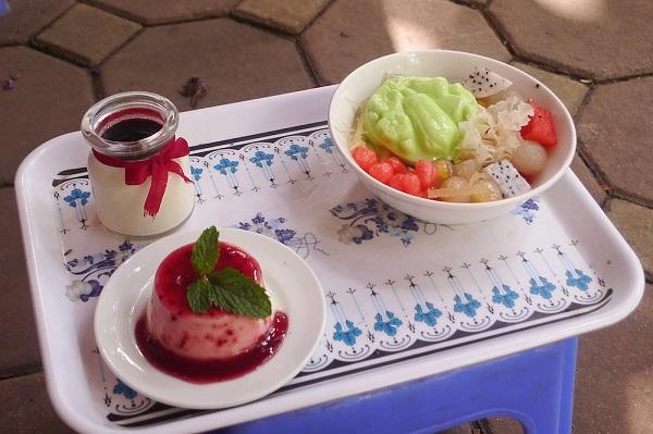 Đến Tô Hiến Thành ăn Panna Cotta và chè pudding 3