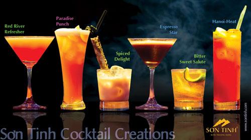 Những ly Sơn Tinh Cocktail mê hoặc phái đẹp