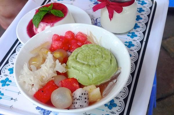 Đến Tô Hiến Thành ăn Panna Cotta và chè pudding 6