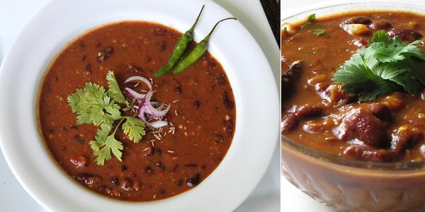 Món đậu sốt thịt Rajima