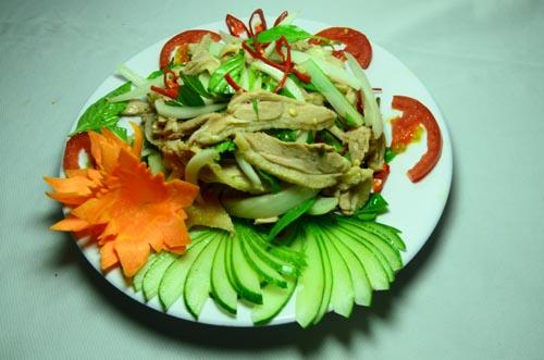 Vịt trộn kiểu Thái