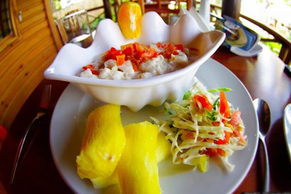 Món Kokoda - đảo quốc Fiji