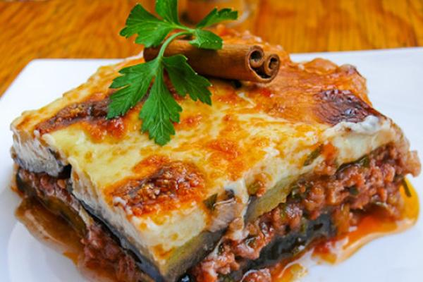 Món Moussaka - Hy Lạp