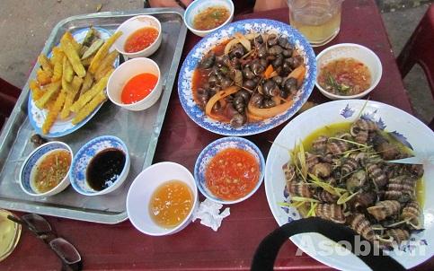 Ốc cay Hồng Lai