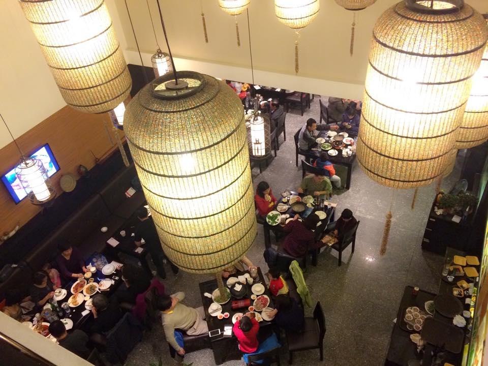 Một góc nhỏ của nhà hàng Gia Viên