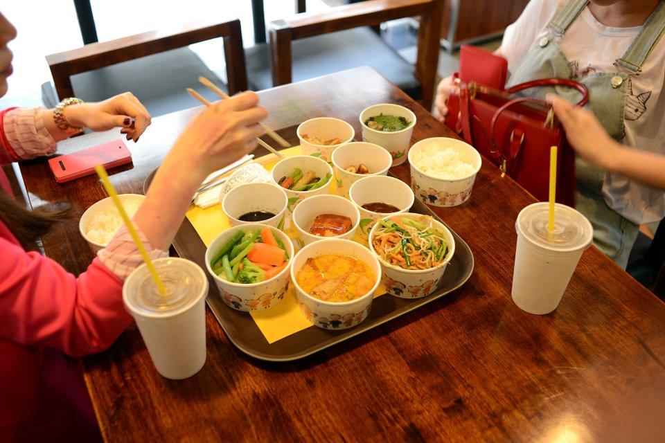 Nhà hàng chay phục vụ theo quán ăn nhanh