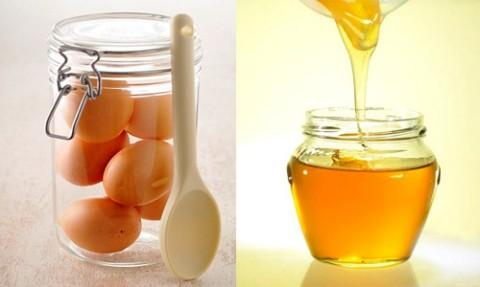 Mật ong và trứng gà hai nguyên liệu tốt cho da