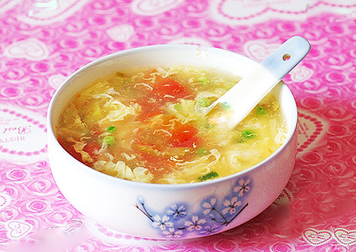 Canh trứng
