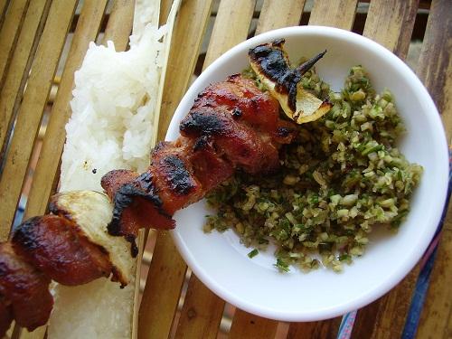 Lên Tây Bắc nhớ ăn cơm lam nếp nương 2