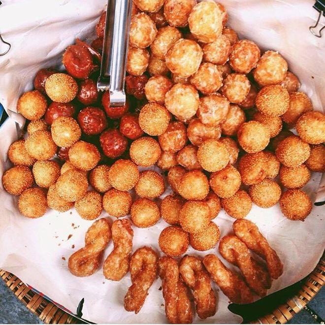 Những món bánh rán hấp dẫn cho ngày đông Hà Nội 2