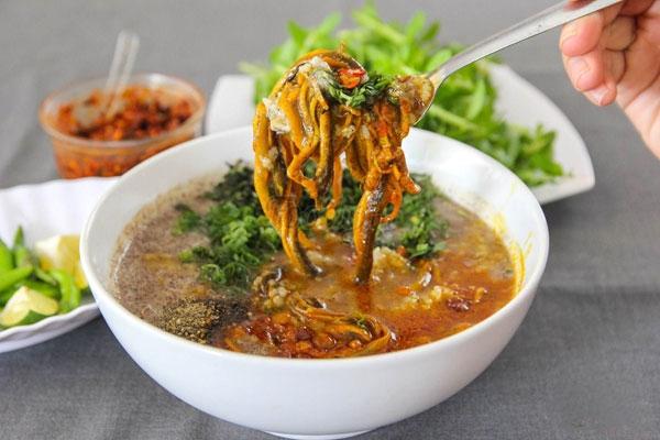 Nhớ cháo lươn xanh Quảng Nam