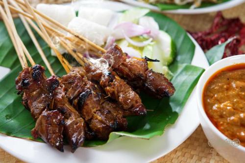 Thịt bò Mông Cổ xiên nướng