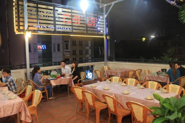 Tầng thượng của nhà hàng