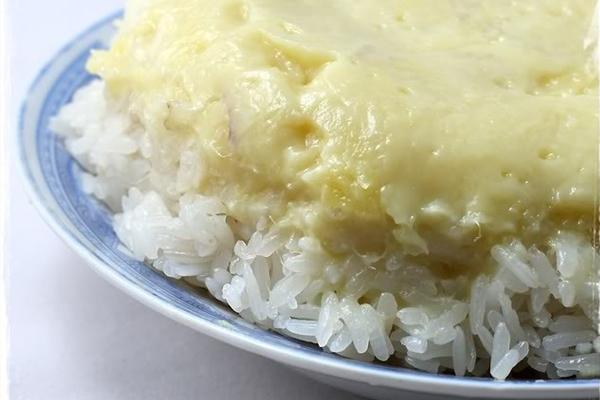 Xôi Xiêm sầu riêng
