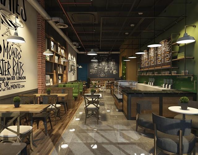 Không gian tầng một ấm cúng, thoải mái của Lake Coffee