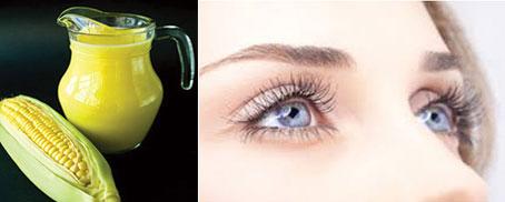 Sữa ngô cũng có tác dụng tốt với mắt