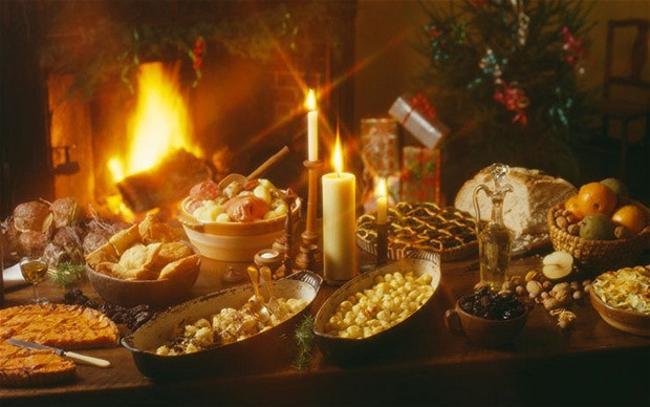 Những món ăn của các nước trong tiệc Giáng Sinh 10