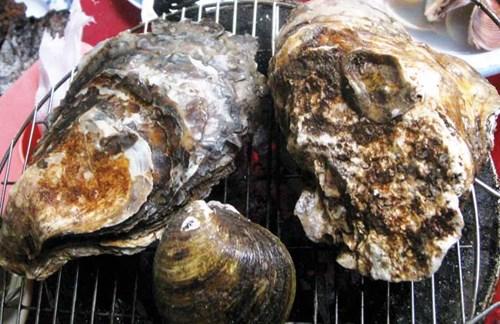 Món ăn ở Đảo Rùa