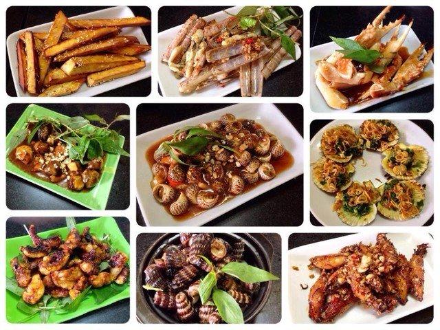 Các món ốc Sài Gòn