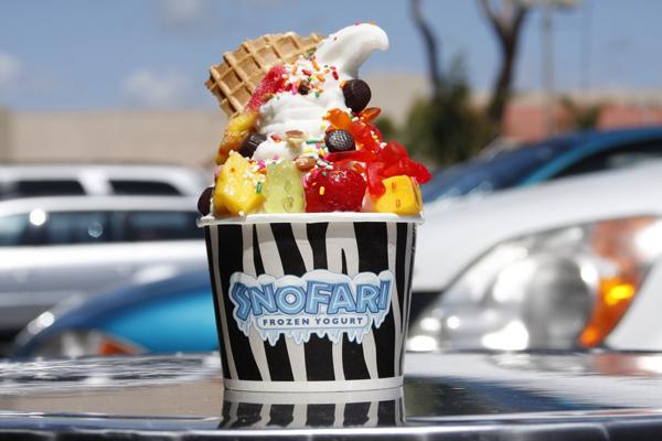 Frozen Yogurt - Mỹ