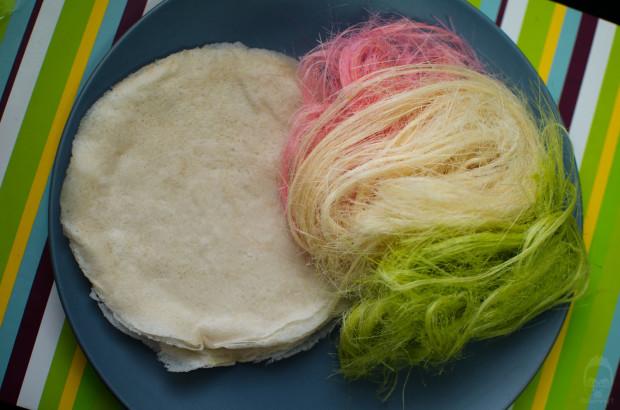 Roti Sai Mai - Món ăn đầy màu sắc của Thái Lan 1