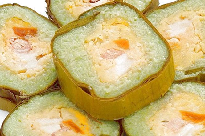 Bánh tét Trà Cuôn