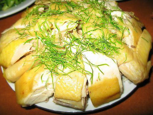 Thịt gà lá chanh