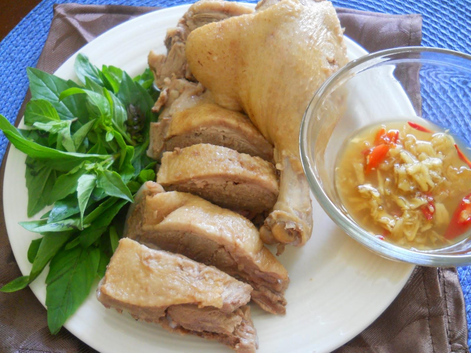 Thịt vịt luộc