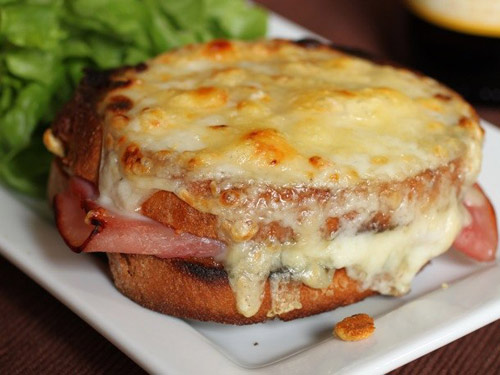 Bánh mì nướng (Croque Monsieur)