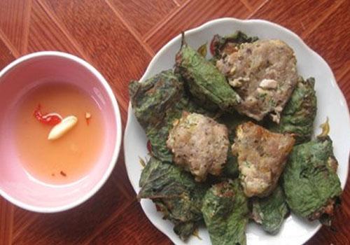 Hương vị thịt vịt gói lá bầu 1
