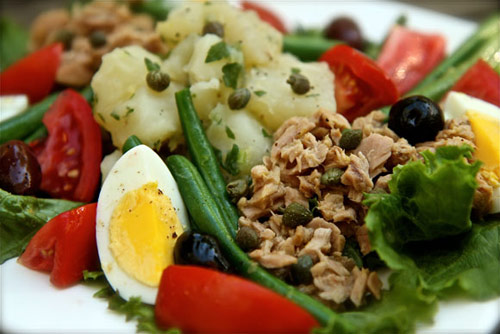 Món Salade Nicoise