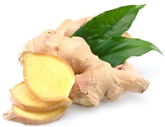 Khoai tây kết hợp gừng trị đau bụng