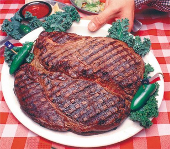 Thịt bò khổng lồ