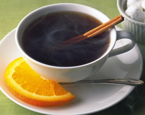 Jamaica còn thưởng thức cà phê với một lát cam tươi