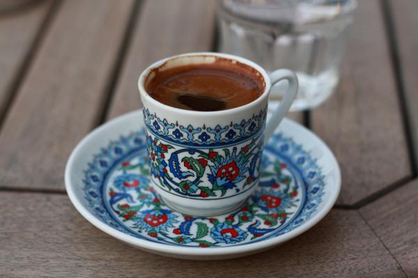 Tách cà phê của người Thổ Nhỹ Kỳ