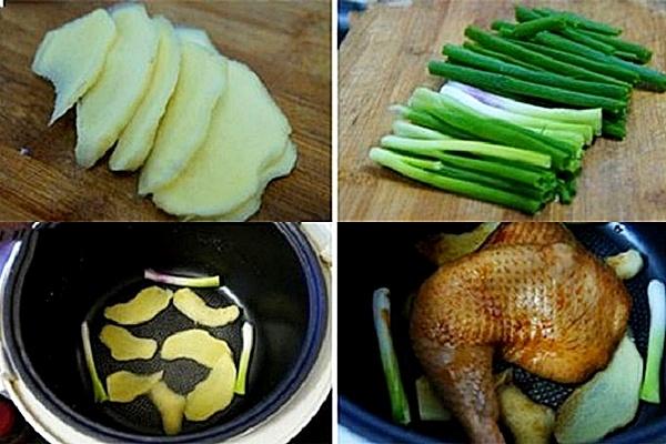 Cách nướng gà bằng nồi cơm điện