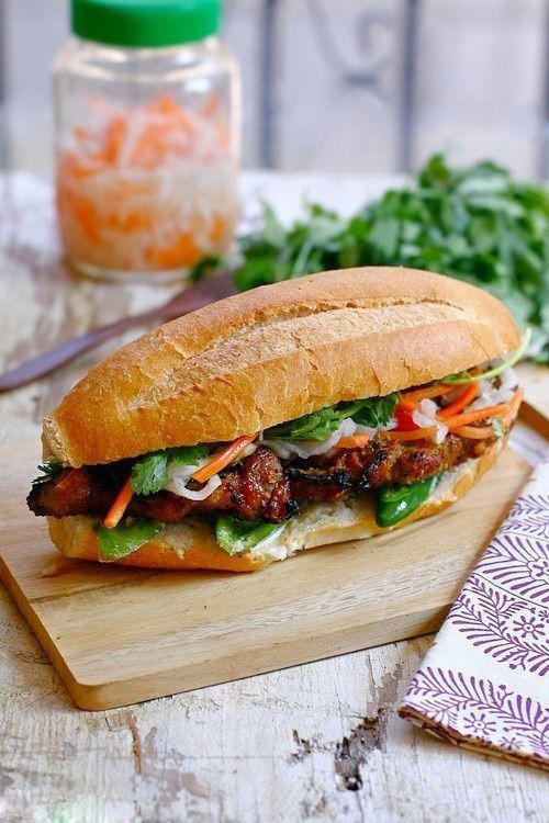 bánh mỳ thịt - ẩm thực 365