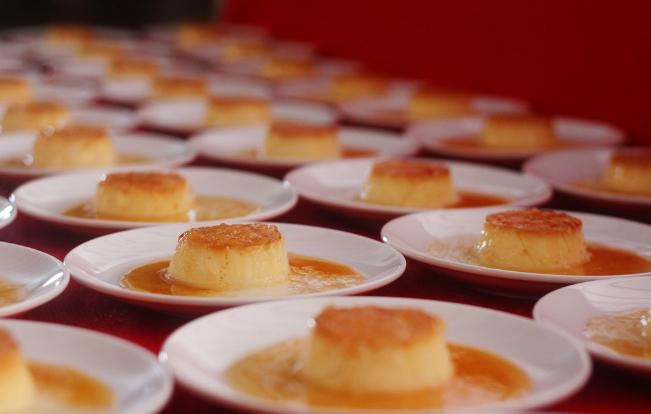 Bánh flan yến - amthuc365.vn
