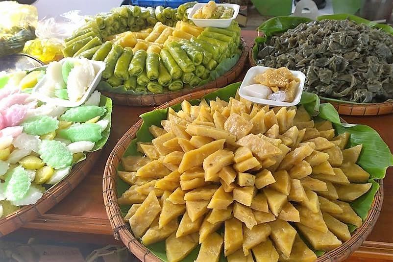 Muôn sắc màu của lễ hội bánh dân gian Nam Bộ 2