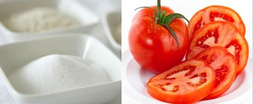 Cà chua và đường