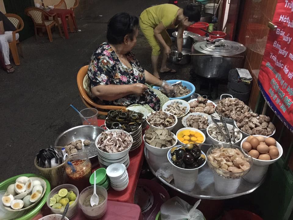 Cháo sườn Bà Hào