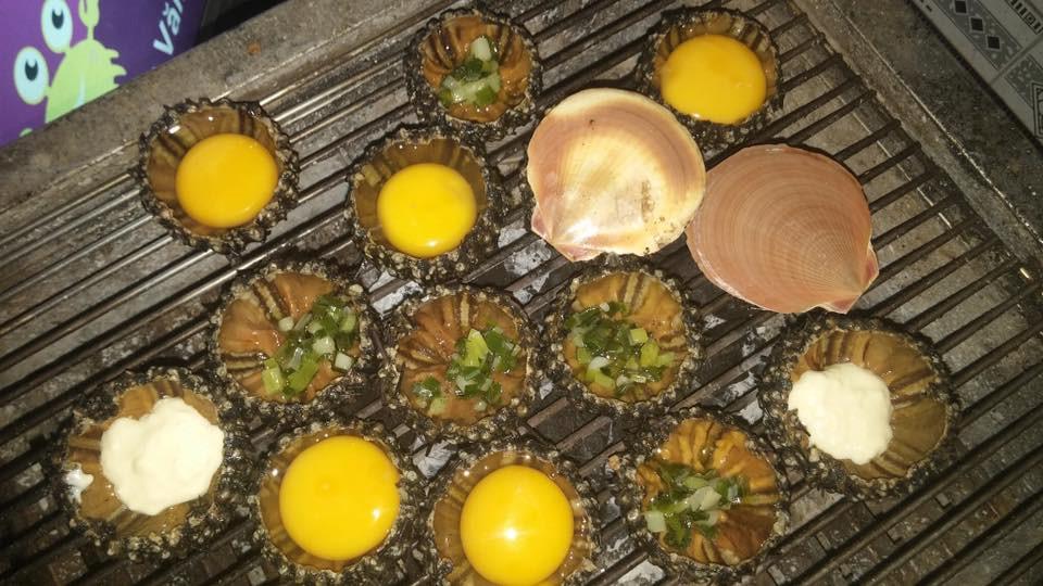 Cầu gai nướng trứng 1