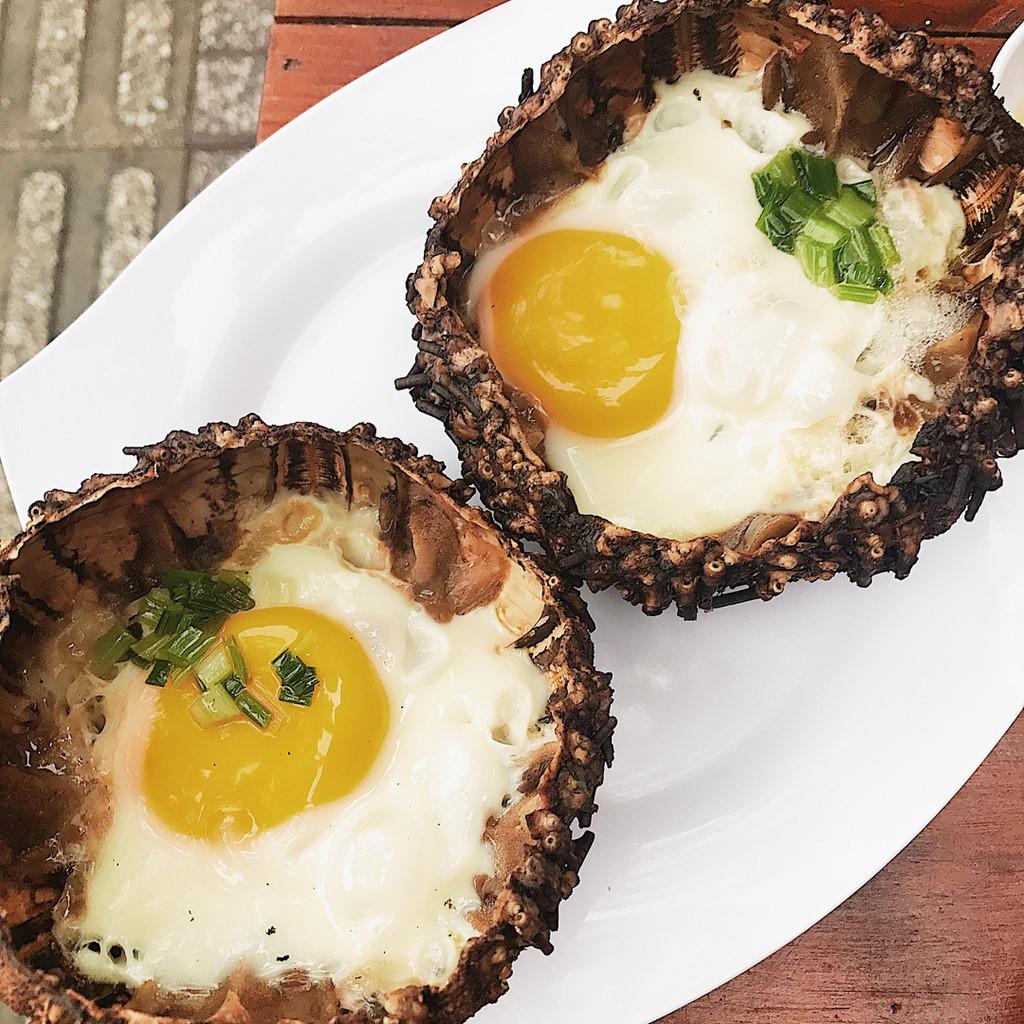 Cầu gai nướng trứng