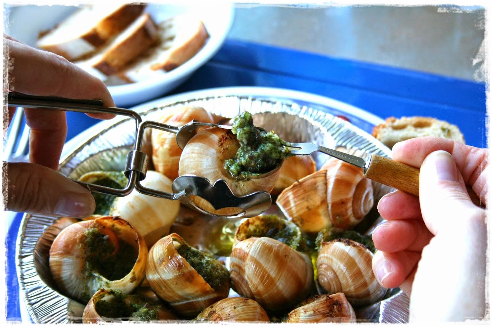 Ở Việt Nam, ốc sên không ai ăn nhưng ở Pháp đây lại là đặc sản đắt tiền3