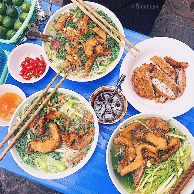 4 quán bún cá thơm lừng ở Hà Nội mở cả ngày cho fan cuồng bún cá1