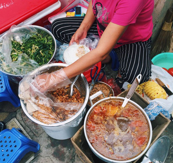 Quán bánh canh ở Hà Nội 1