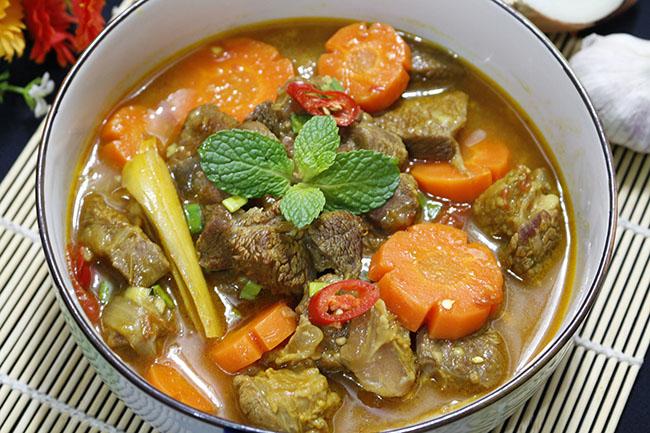 Bò kho nước dừa thơm lừng, ăn hết cả nhà ai cũng chẹp miệng tiếc nuối8